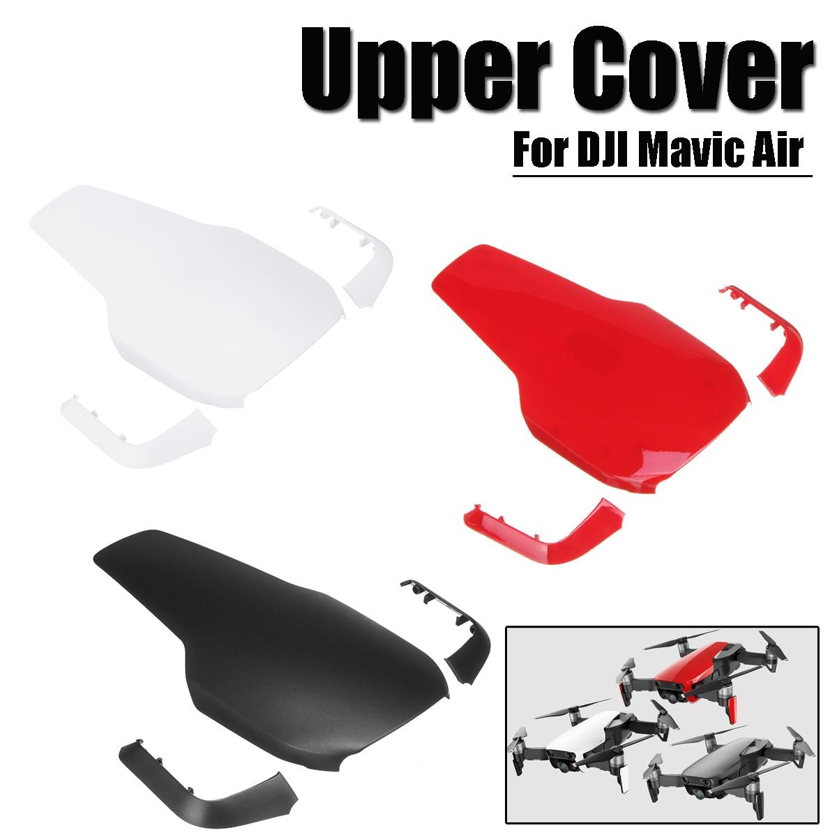 Left Mavic air-Upper decorative cover Black